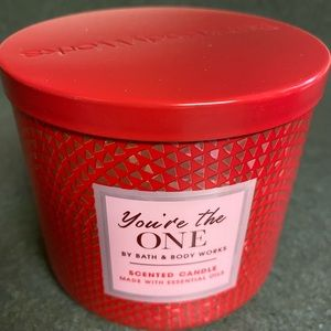 You're the one candle